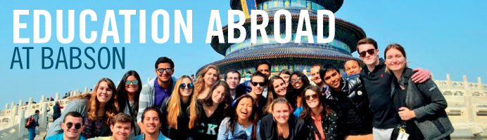 Education Abroad at Babson